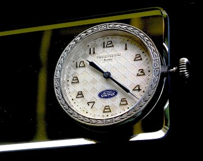 This is another view of the 1934 Precision 8 Day Clock Mirror